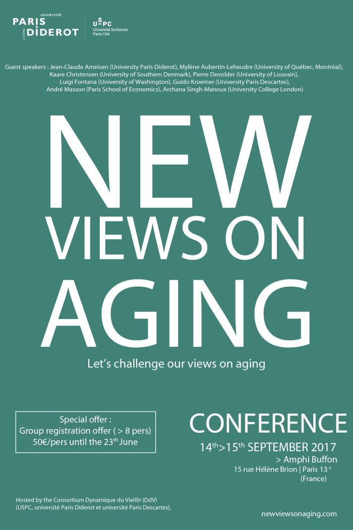 Flyer New Views On Aging - Special Offer